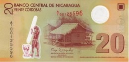 NICARAGUA 20 CÓRDOBAS 2007 (2009) B498a (P202) UNC - Nicaragua