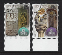 HUNGARY - 2016. SPECIMEN - 89th Stampday / Szombathely / Mausoleum From Roman Age And Statue Of The Holy Trinity - Hungría