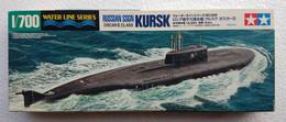 Russian SSGN Oscar II Class KURSK 1/700  (  Tamiya ) - Boats