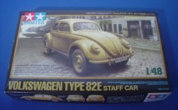 Volkswagen Type 82E Staff Car  1/48  ( Tamiya ) - Cars