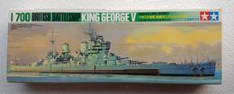 British Battleship King George V  1/700 ( Tamiya ) - Boats