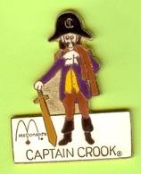 Gros Pin's Mac Do McDonald's Captain Crook (Ancien Personnage) Modifier De Broche À Pin's - #040 - McDonald's