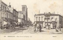 """/ CPA FRANCE 33 """"Bordeaux, Place Croix De Seguey"""" - Bordeaux"""