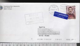 C1847 Storia Postale Emissione 2004 50 EDIZIONE FESTIVAL DI PUCCINI Euro 0.60 ISOLATO - 6. 1946-.. Repubblica
