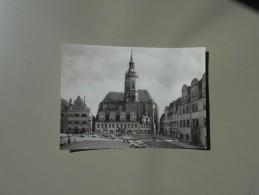 ALLEMAGNE SAXE ANHALT NAUMBURG / SAALE WILHELM PIECK PLATZ MIT WENZELKIRCHE - Naumburg (Saale)