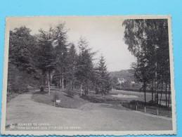 Sources De Genval Coin Du Parc ( Zicht Op Het Park ) Anno 19?? ( Zie/voir Foto Voor Details ) !! - Rixensart