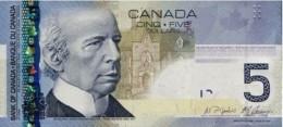 CANADA 5 DOLLARS 2006 (2008) P-101Ab UNC SIGN. JENKINS & CARNEY [CA366b] - Canada
