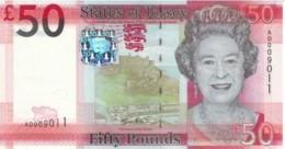 JERSEY 50 POUNDS ND (2010) P-36 UNC  [ JE131a ] - Jersey