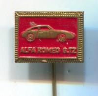 ALFA ROMEO G.TZ - Car Auto, Automotive, Vintage Pin  Badge - Alfa Romeo