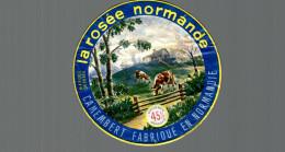 ETIQUETTE CAMEMBERT LA ROSEE NORMANDE - Fromage