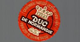 ETIQUETTE CAMEMBERT DUC DE NORMANDIE - Fromage