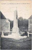 77. VILBERT. Le Monument Aux Morts De La Grande Guerre - Altri Comuni