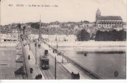 Cp , 41 , BLOIS , Le Pont Sur La Loire - Blois
