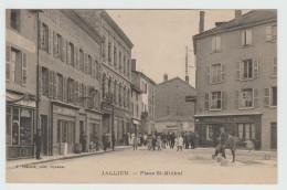 JALLIEU (38) - PLACE SAINT MICHEL - Jallieu