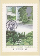 Great Britain 1983 British Gardens / Blenheim 1v Maxicard (30400) - Maximumkaarten