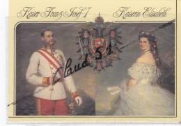 Autriche;Kaiser FRANZ JOSEF I. Von Österreich 1848-1916 -Kaiserin ELISABETH Von Öterreich ,1837-1896. - Non Classés