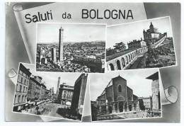 Cpsm Bon Etat , 10.5x15cm , Saluti Da Bologna , Carte Rare , Voir Timbre Courrier Verso , P'tit Pet Haut Droit.... - Bologna