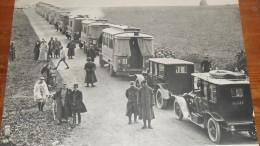 Photogravure. Guerre 1914-1918. La Bataille De La Marne. Mobilisation Des Transports. Septembre 1914. - Reproductions