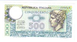 500 LIRE MERCURIO 1976 FDS LOTTO 1308 - 500 Lire