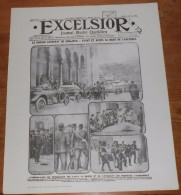 Photogravure. Guerre 1914-1918. Excelsior. Journal Illustré Quotidien. Première Page. Samedi 4 Juillet 1914. - Reproductions