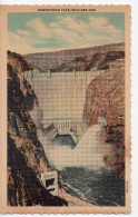CPA.1937.Etats-Unis.Nevada.Boulder Dam.Downstream Face.Barrage Hoover.en Aval. - Etats-Unis