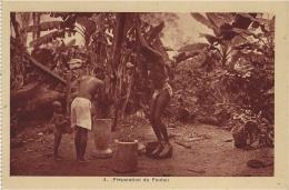 COTE D´IVOIRE - 4- Préparation Du Foutou - Côte-d'Ivoire
