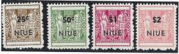Niue N° 135a/38a ** Rough Perf - Autres