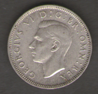 GRAN BRETAGNA 1 SHILLING 1943 - 1902-1971 : Monete Post-Vittoriane