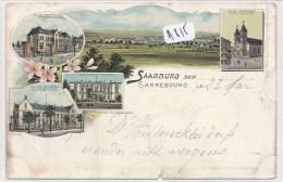 CPA ( Précurseur 1898 ) - A815  - 57 - Saarburg - Multivues ( En L'état - 2 Scans) - Sarrebourg