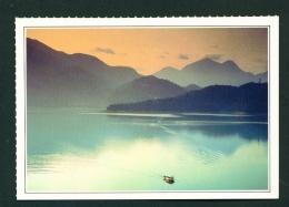 TAIWAN  -  Sun Moon Lake  Unused Postcard - Taiwan