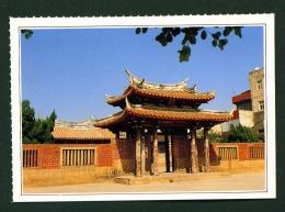 TAIWAN  -  Lukang  Lungshan Temple  Unused Postcard - Taiwan