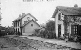 TINCHEBRAY - La Gare, Vue Intérieure - Otros Municipios