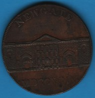Middlesex - Newgate PRISON  1/2 HALF PENNY 1794  D&H 393 - Professionals/Firms