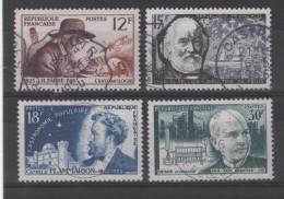 FRANCE - N° 1055 à 1058 - Oblitérés - C: 7,10 € - Oblitérés
