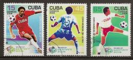 Cuba YT 4325-4327 Obl - Coupe Du Monde