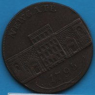 Middlesex - Newgate PRISON  1/2 HALF PENNY 1795  D&H 396B - Professionals/Firms