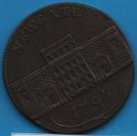 Middlesex - Newgate PRISON  1/2 HALF PENNY 1795  D&H 396B - Professionnels/De Société