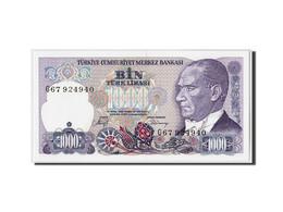 Turquie, 1000 Lira, L.1970 (1986), KM:196, Undated, NEUF - Turquie
