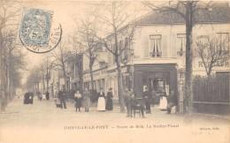 CPA 94 JOINVILLE LE PONT ROUTE DE BRIE LE ROCHER FLEURI - Joinville Le Pont