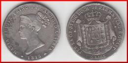 **** ITALIE PARME - ITALIA PARMA - 5 LIRE 1815 MARIA LUIGIA - ARGENT - SILVER **** EN ACHAT IMMEDIAT !!! - Regional Coins
