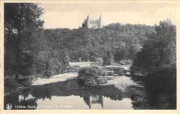 Château Royal De Ciergnon Et La Lesse. - Carte Oblitérer En 1945. - Houyet