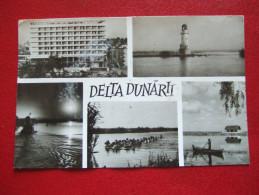 """ROUMANIE - """" DELTA DUNARII """" - CARTE MULTI-VUES - - Roumanie"""