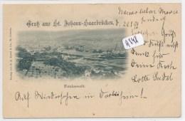 CPA ( Précurseur) - A848 - Allemagne - St Johann - Saarbrücken - Totalansicht - Sonstige