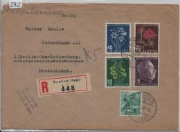 1948 Ausland R-Brief Von Teufen Nach Berlin-Charlottenburg PJ Satz - Pro Juventute