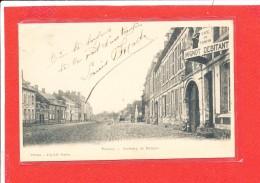 80 PERONNE Cpa Café Du Tonkin Faubourg DeBretagne   Edit Loyson - Peronne