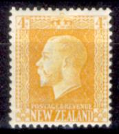 Nuova-Zelanda-0022 - 1915-22 - Y&T N. 153 (+) Hinged - Privo Di Difetti Occulti - - 1855-1907 Crown Colony