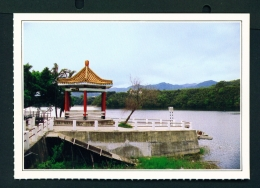 TAIWAN  -  Touwu  Mingteh Dam  Unused Postcard - Taiwan