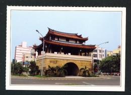 TAIWAN  -  Hsinchu  Yinghsi Gate  Unused Postcard - Taiwan