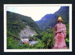 TAIWAN  -  Tienhsiang  Wen Tien-Hsiang Statue  Unused Postcard - Taiwan