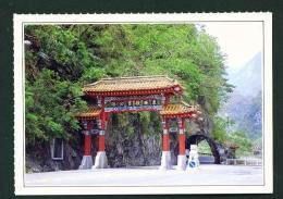 TAIWAN  -  Taroko Gorge  Unused Postcard - Taiwan